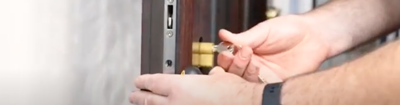 How to replace the lock barrel on a door