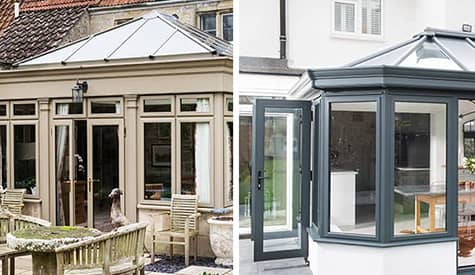 Difference between a conservatory and orangery