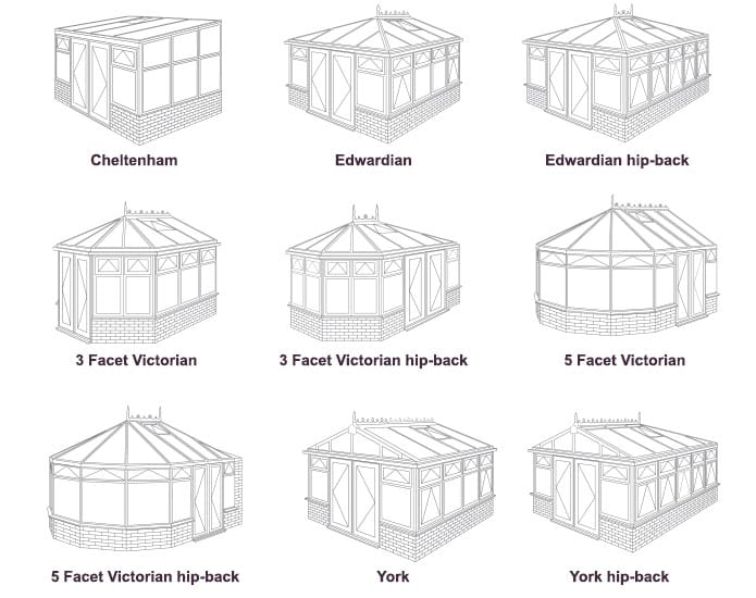 conservatory shapes