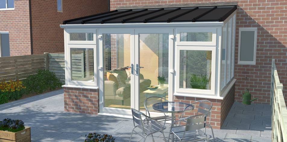 The Everest range of off-the-shelf conservatories