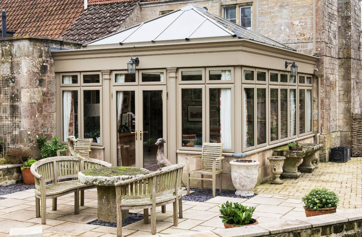 An affordable timber conservatory from Everest