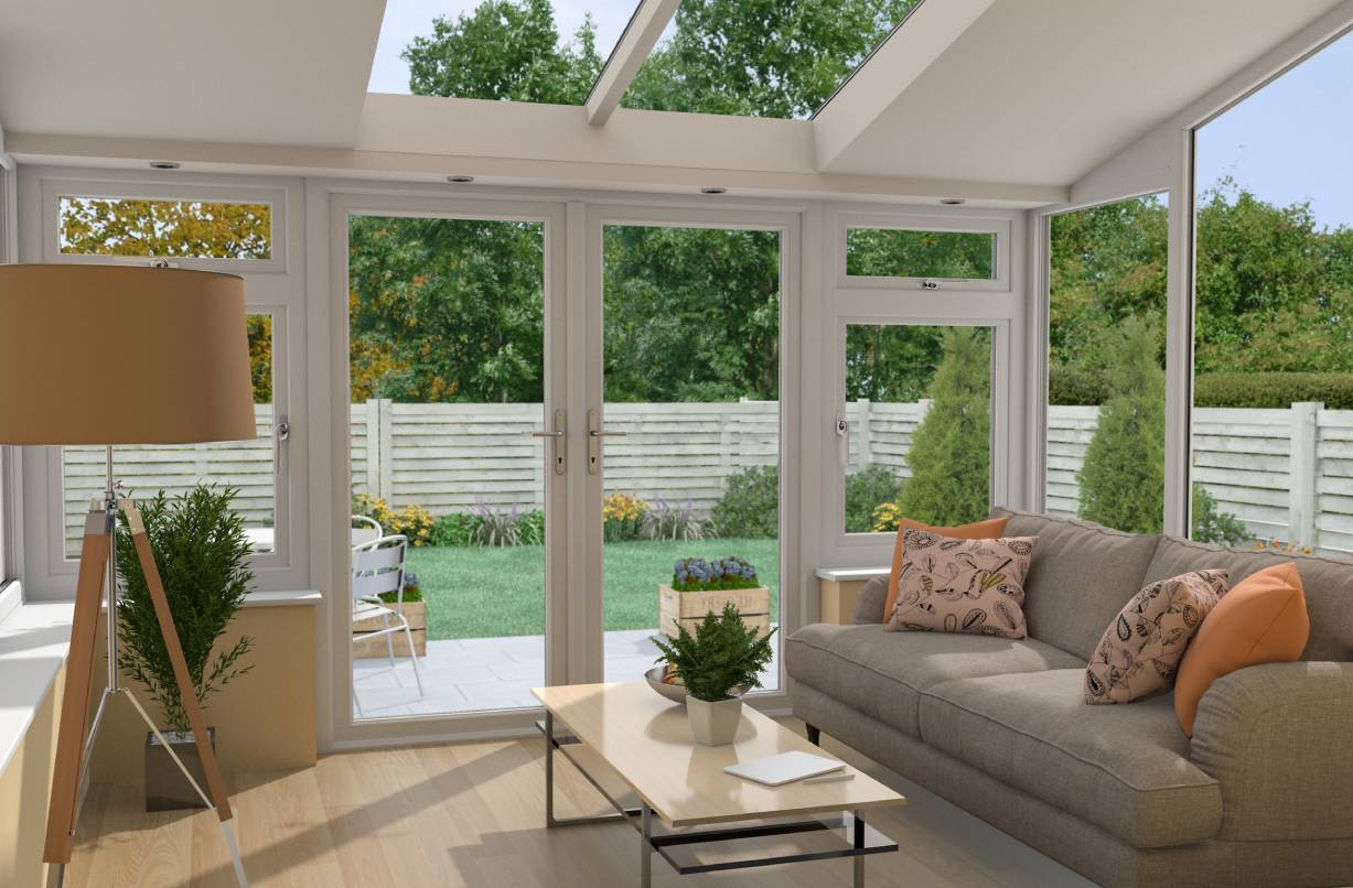 A stunning uPVC conservatory enjoyable all year round