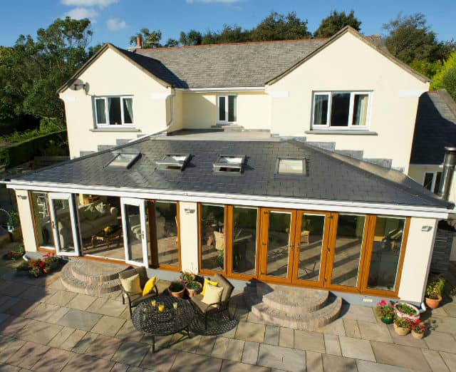Tiled Roof Extensions – A Simple Compromise