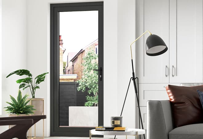 Everest aluminium entrance door