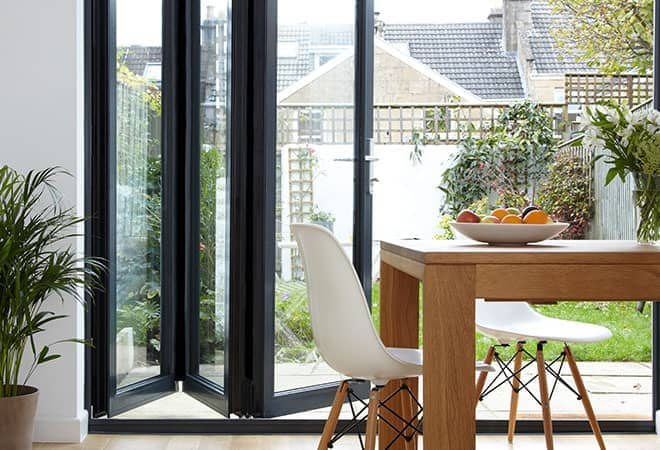 Bi Fold Doors Aluminium Patio Folding Doors From Everest