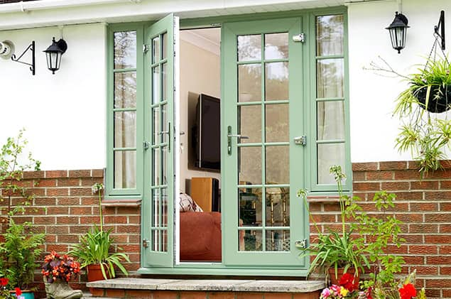 French Doors | uPVC External French Doors | Double Glazed