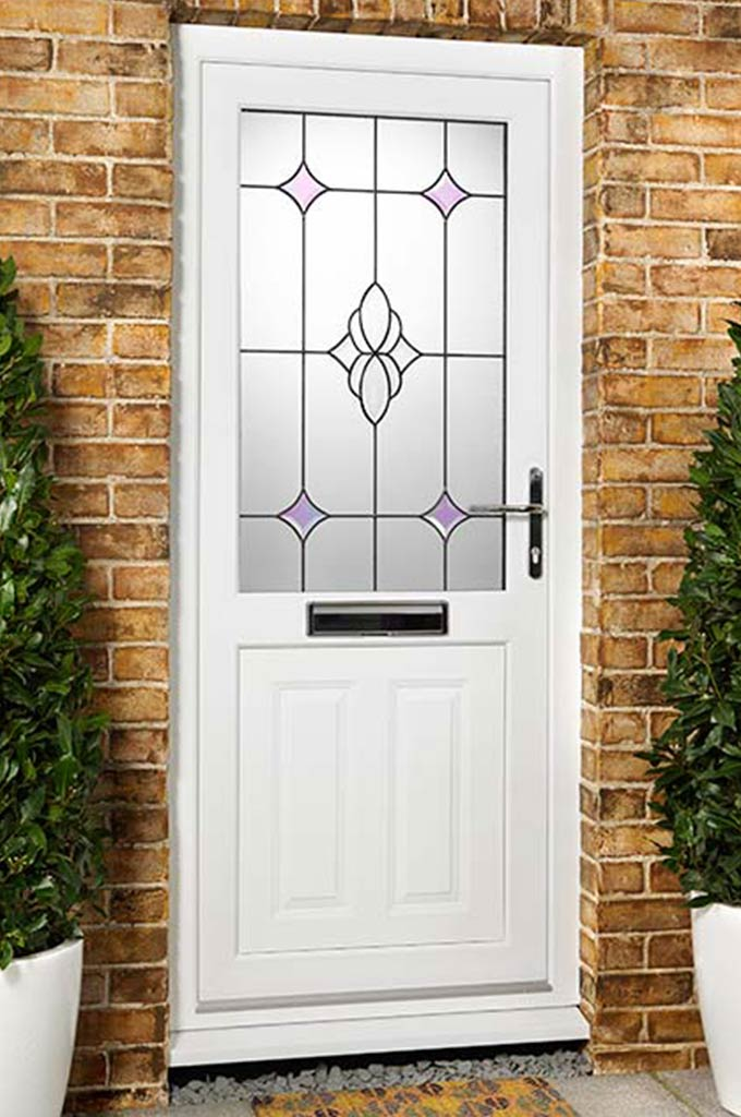 Upvc front back doors view our pvc external doors for Upvc french doors with letterbox
