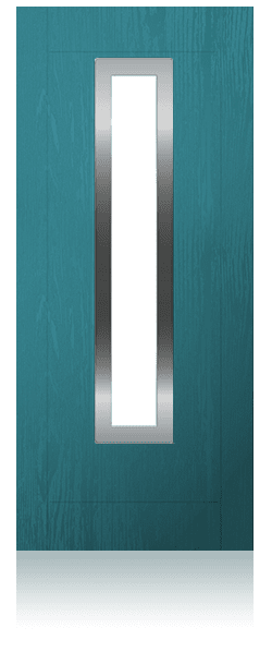 Contemporary composite entrance door - Barcelona design