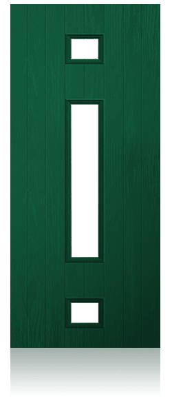 Contemporary composite entrance door - Gothenburg design