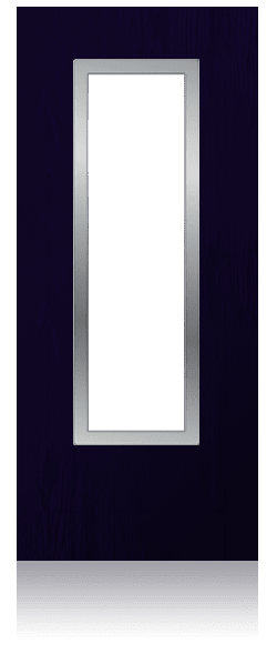 Contemporary composite entrance door - Milan design
