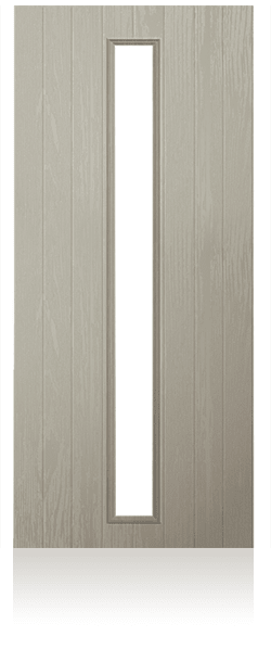Contemporary composite entrance door - Prague design