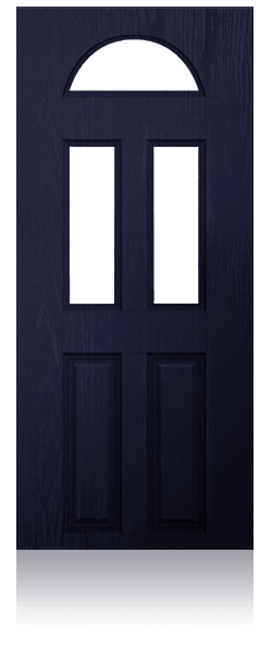 Glamis traditional composite door from Everest