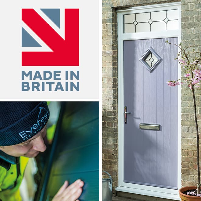 Everest Composite Doors all handcrafted in Britain