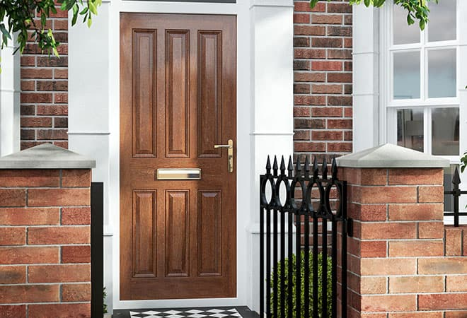 Everest Timber entrance door