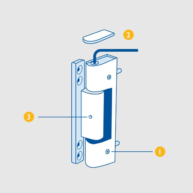 How To Adjust A Upvc Door And Hinges To Stop Draughts Everest