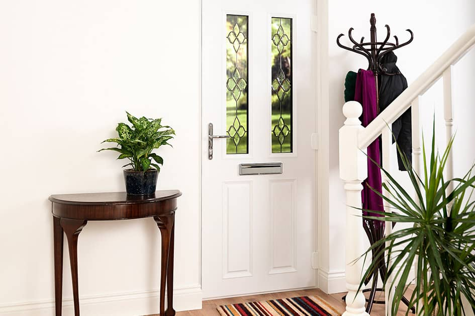 Everest uPVC entrance door