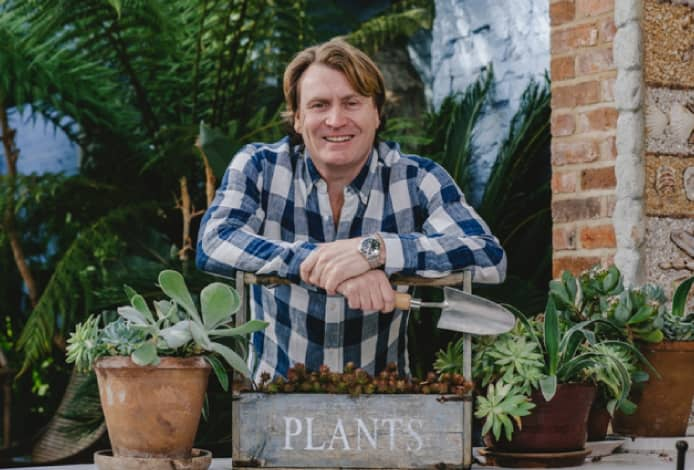 TV gardener David Domoney