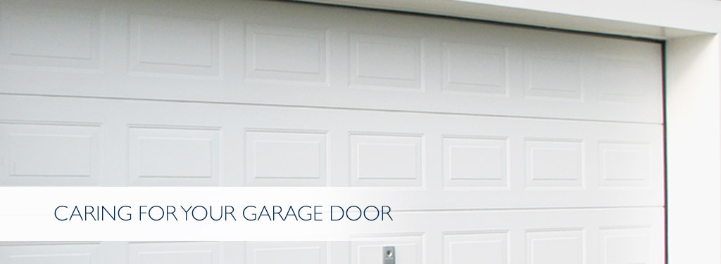 Care for your Garage Door