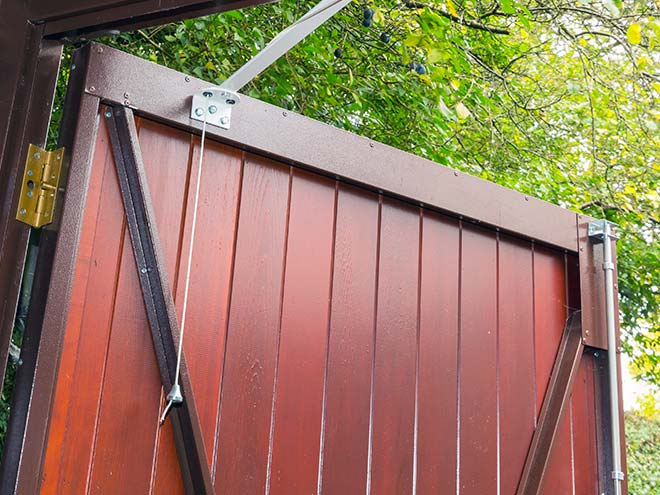 The Other Side Of Garage Doors For Garages : Side hinged garage doors everest