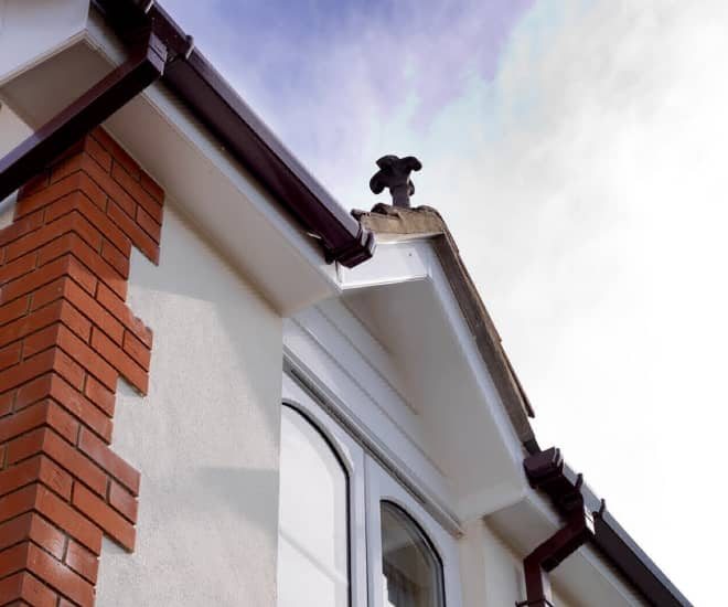Everest uPVC roofline products are long-lasting and virtually maintenance free
