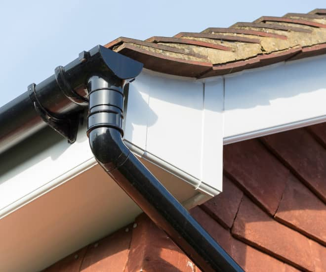 Everest fascias, soffits and guttering rigorously tested for waterproofing and durability