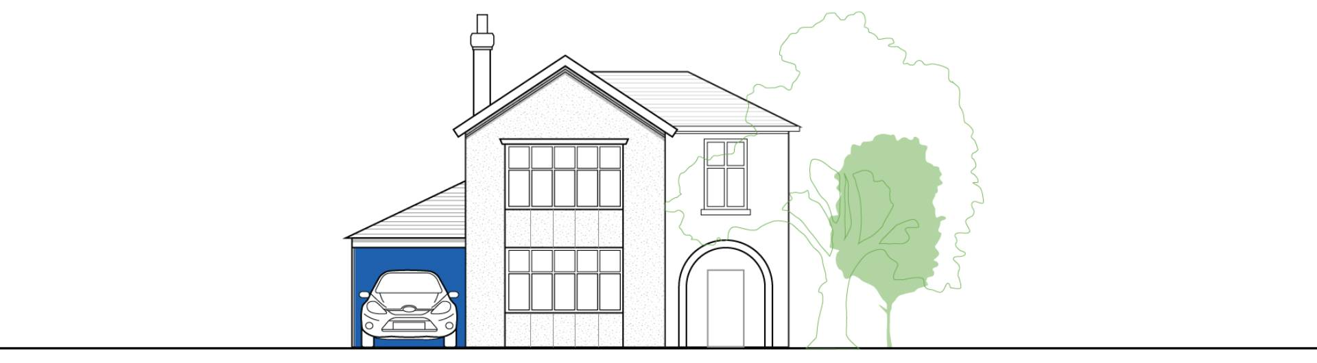 Planning permission for a conservatory in Scotland