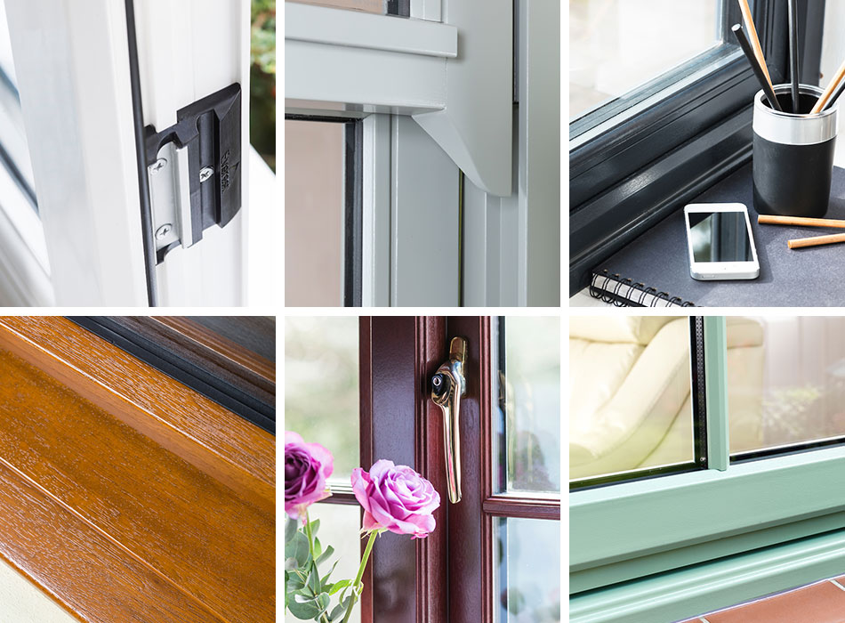 super popular 74ffc db9f5 Coloured uPVC Windows & Frames | Black, Brown & Grey Colour ...