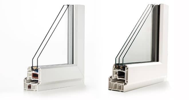 Double and triple glazing
